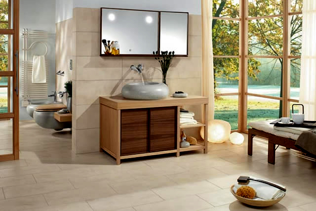 des d cos de salles de bain zen id e d co de salle de bain. Black Bedroom Furniture Sets. Home Design Ideas